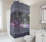 Fairy Bath Shower Curtain for sale