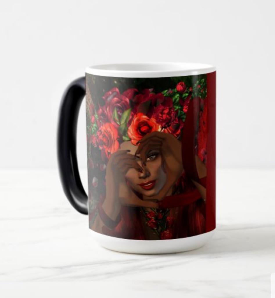 Heart-Hands Fairy Mug